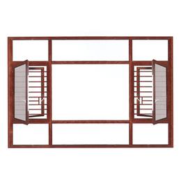 广东盛世莱断桥窗纱一体001缩略图