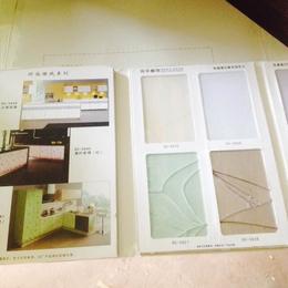 乳胶漆色板仿石漆色卡样册