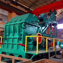 金属压块破碎机 汽车分解破碎生产线 志乾废钢金属粉碎机厂家
