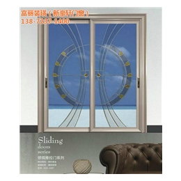 单层玻璃推拉门,荆州推拉门,新豪轩门窗(查看)