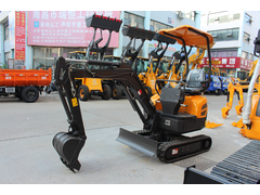 型號16大臂挖斗挖掘機展示