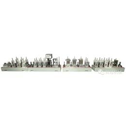 佛山百冠不锈钢排气管散热管管汽车油管烟筒管复合管焊管机缩略图