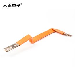 人禾RHI专业定制生产电源连接导电铜排件柔性铜排电流桥架