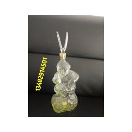 12生肖猴子酒瓶空心猴玻璃酒瓶美猴王造型创意玻璃酒瓶