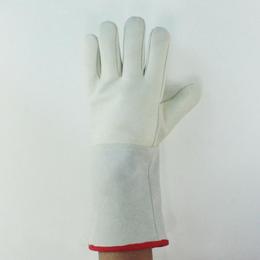 牛皮耐低温手套 冷藏室防寒保暖手套 防液氮手套