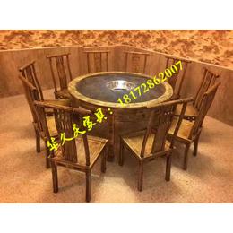 华久庆餐饮连锁加盟桌椅定做 连锁加盟餐馆桌椅板凳批发