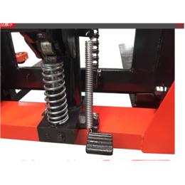 搬运设备01B02H001-04窄腿锻打式手动堆高车