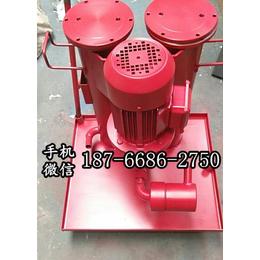 江西赣州过滤设备 单筒高精度精细滤油小车 可以移动的滤油机