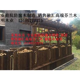 防腐木护栏系列