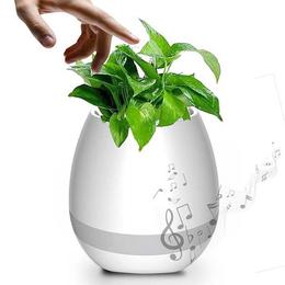 智能音乐花盆 蓝牙音响 种花音箱 k3音乐植物盆栽