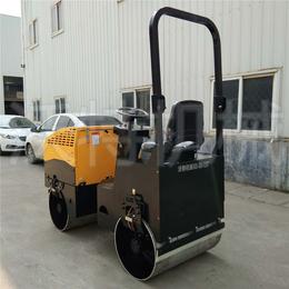 座驾式小型压路机压实沥青 厂家销售小型振动手扶压路机