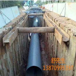 伟腾拉森止水钢板桩施工