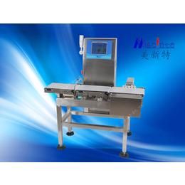 多功能高精度电子分选检重秤 不合格产品剔除检重机