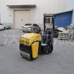 座驾式震动小压路机价格和样品 小型轧道机的操作