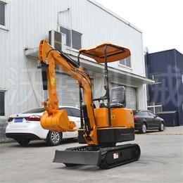 驾驶式履带挖掘机重量 功能性的钢履带农用挖掘机