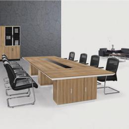 炫辞办公家具厂家直销新款板式会议桌  圆型办公会议桌