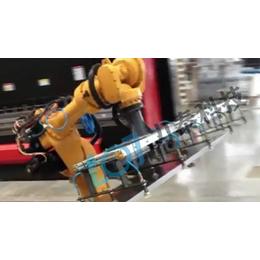 <em>电</em>液数控自动折弯机配置<em>力</em>泰折弯机械手 钣金机器人操作