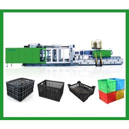 塑料水果筐机器  黑色塑料筐qy8千亿国际 筐子注塑机厂家