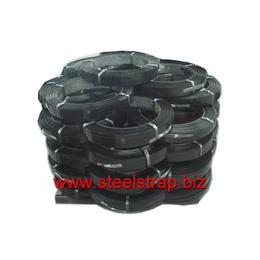 厂家大批发供应黑漆打包钢带包装钢带