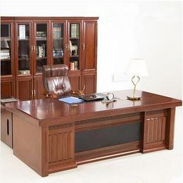 办公家具油漆实木贴皮老板桌 经理主管大班台 环保老板台