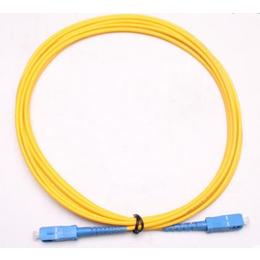 光纤线SC- SC单模光纤跳线尾纤FTTH光缆3米可定制