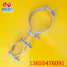 光缆抱箍  单长尾抱箍  子母抱箍底订做型号规格