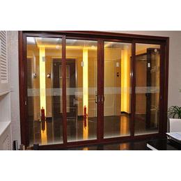 4开推拉门衣柜价格、富丽装璜专业定制门窗、常德推拉门