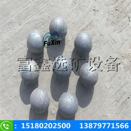 江西富鑫高韧性铬合金铸造钢球 球磨机铸造耐磨钢球