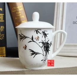 供应陶瓷保温杯 景德镇陶瓷杯厂家