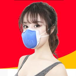 防花粉防粉尘口罩 秋冬专业防雾霾锂电静音口罩