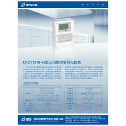 优质热销河南郑州电表DTZY1316-G型费控智能电能表