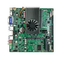 微特迈WTM M-J3160 支持三显示 DC供电 工控主板