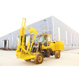 山东厂家护栏气动护栏打桩机20型装载式低价促销