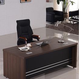 新款办公家具老板桌办公桌椅组合简约现代板式大班台总裁桌经理桌