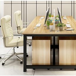 职员办公桌4人位简约现代组合屏风卡位26人位员工桌办公桌椅