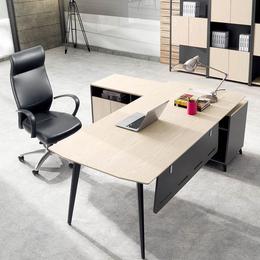 时尚办公家具老板桌大班台主管桌行政办公桌椅书柜简约现代缩略图