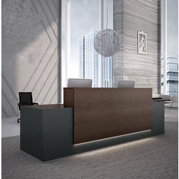 创意前台接待台办公桌简约现代公司前台桌收银台咨询台吧台