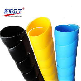 厂家直销 彩色油管护套 液压水管保护套 抗老化胶管耐磨护套