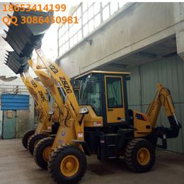 前铲后挖装载机厂家中首重工两头忙铲车挖掘机动力足效率高czx