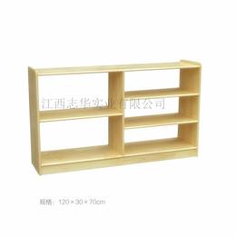实木玩具柜  幼儿园柜子