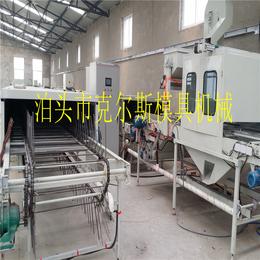 克尔斯公司自主研发生产产品彩石金属瓦生产设备系列