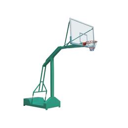 HJ-T016钢化玻璃篮板移动式