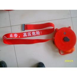 天津盒式安全警示带 道路施工反光警示带 盒式警示带 冀航电力
