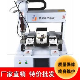 厂家直销坚成电子自动螺丝机802单电批双轨道自动螺丝机器人