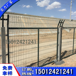 珠海路边防护栅栏现货 墨绿色铁路防护隔离栅 江门加密金属网