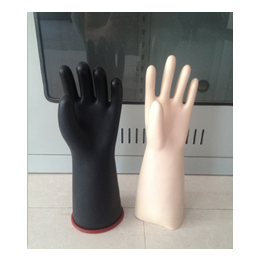 衡水五指橡胶手套 电工绝缘手套 绝缘橡胶手套价格 冀航电力