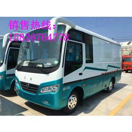 东风超龙7.5米客货两用封闭式货车货厢尺寸多少