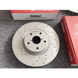 大众高尔夫 ECFRONT刹车改装打孔划线高性能刹车盘