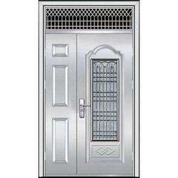 天津河西区安装钢制防盗门厂家定制楼宇对讲门