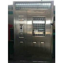天津塘沽区安装钢制防盗门厂家定制楼宇对讲门